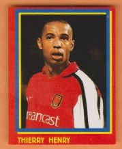Arsenal Thierry Henry France (R)